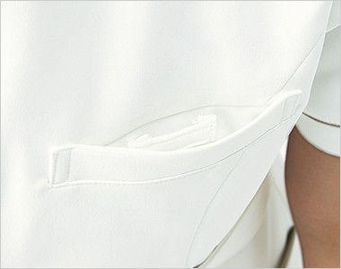 MK-0020 ミッシェルクラン(MICHEL KLEIN) ワンピース(女性用) ポケット内にネームループ付
