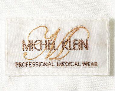 MK-0022 ミッシェルクラン(MICHEL KLEIN) チュニック(女性用) オフホワイトとクリームは白、ブラックは黒のオリジナルネーム付き