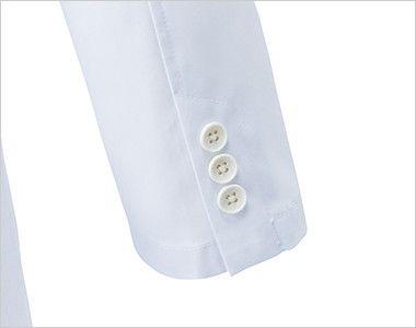 MZ-0023 ミズノ(mizuno) レディースドクターコート・シングル(女性用) 袖口は3つボタン