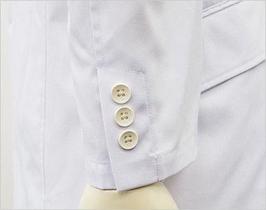 MZ-0025 ミズノ(mizuno) ドクターコート・シングル(男性用) スリット