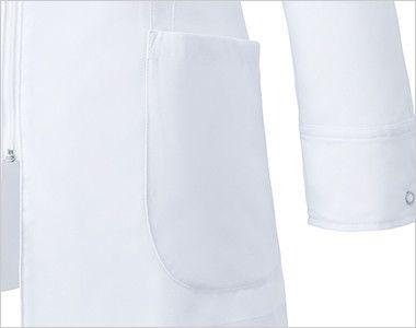 MZ-0055 ミズノ(mizuno) レディースハーフコート(女性用) ポケット