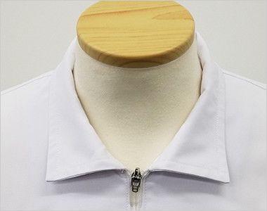 MZ-0056 ミズノ(mizuno) メンズハーフコート(男性用) 襟を折って着用も可能