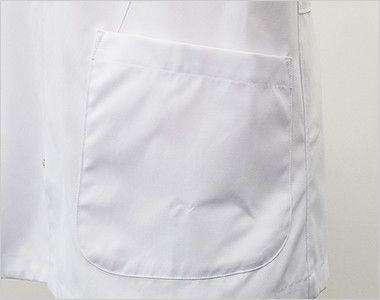 MZ-0056 ミズノ(mizuno) メンズハーフコート(男性用) ポケット付き