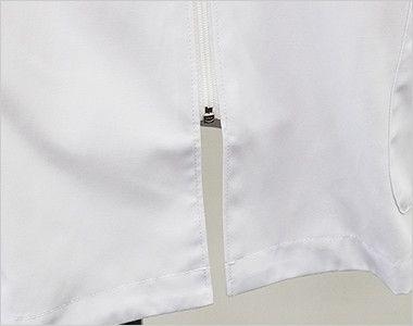 MZ-0056 ミズノ(mizuno) メンズハーフコート(男性用) 足元が動きやすい短めのフロントファスナー