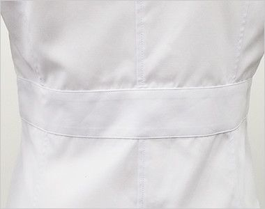 MZ-0057 ミズノ(mizuno) 七分袖 レディースドクターコート・シングル(女性用) ベルト部分