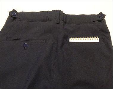 MZ-0088 ミズノ(mizuno) ストレッチパンツ(男性用)ストレートシルエット アジャスター仕様 股下マチ  ヒップポケット付き