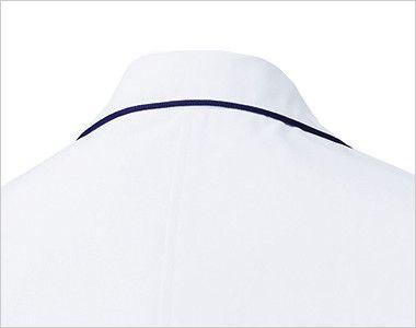 MZ-0107 ミズノ(mizuno) パイピング レディースドクターコート(女性用) パイピングの入ったオシャレな襟