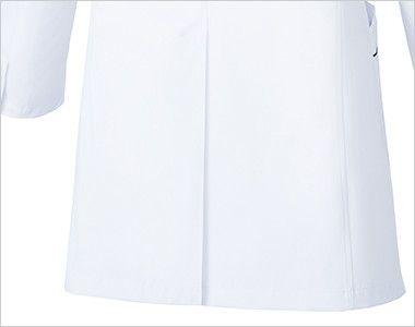 MZ-0108 ミズノ(mizuno) パイピング メンズドクターコート・シングル(男性用) センターベンツ