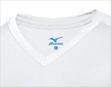 MZ-0154 ミズノ(mizuno) 9分袖アンダーウェア(女性用) スッキリした美しさのVネック