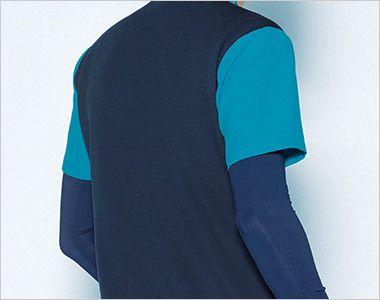 MZ-0164 ミズノ(mizuno) ストレッチジャケット(男性用) バックスタイル