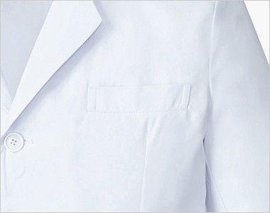 MZ-0176 ミズノ(mizuno) ドクターコート(男性用) ポケット付き