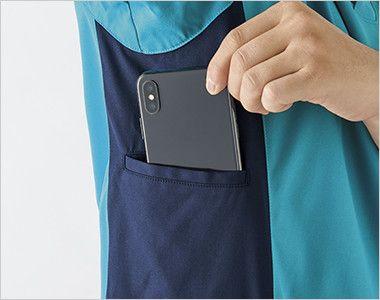 MZ-0183 ミズノ(mizuno) ケーシージャケット(女性用) ポケットに大きめのスマホが収納可能