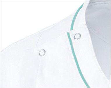 UN-0045 UNITE(ユナイト) ケーシー(男性用) 着脱が便利なドットボタン