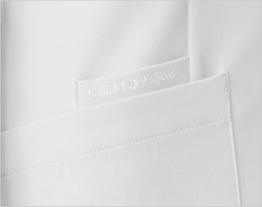 614 ジェラート ピケ&クラシコ レイヤースリーブワンピース(女性用) ジェラート ピケのロゴ刺繍。