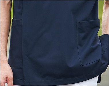 1010CR FOLK(フォーク) メンズケーシー(男性用) ポケット付き