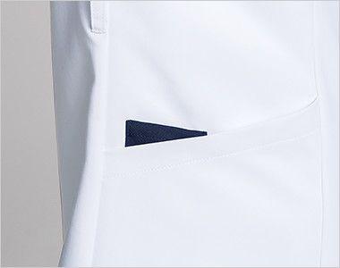 1016EW FOLK(フォーク) ZIP SCRUB メンズスクラブ(男性用) 便利なループと小分けポケット