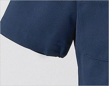 2010CR FOLK(フォーク) レディースケーシー(女性用) 袖口が絞られたゴム仕様なので腕を上げても下着が見えずに安心です。