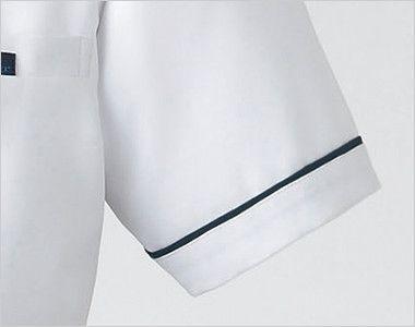 2015EW FOLK(フォーク) ナースチュニック(女性用) 裾におしゃれなパイピング