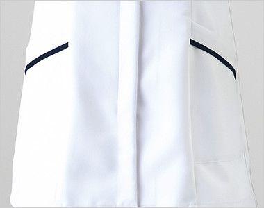[在庫限り/返品交換不可]2016EW FOLK(フォーク) レディースチュニック(女性用) 収納力抜群な斜めポケット付き