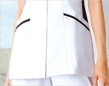 2017EW FOLK(フォーク) ナースチュニック(女性用) ポケット付き