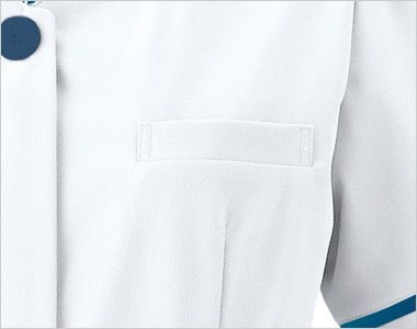 3016EW FOLK(フォーク) ナースワンピース(女性用) 小物も入れられる箱型のポケット