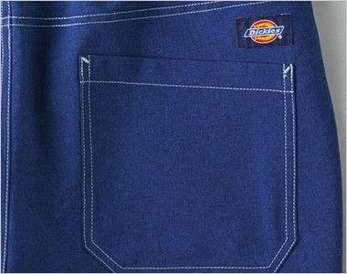 5022SC FOLK(フォーク)×Dickies ストレートパンツ(男女兼用) ディッキーズロゴ入り後ろポケット付き