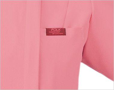 7038SC FOLK(フォーク) レディス ジップスクラブ(女性用) ポケット付き