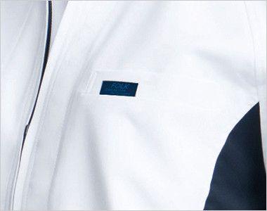 9000EW FOLK(フォーク) ブルゾン ポリ100% SEK制菌(赤)(男女兼用) 箱ポケット付き