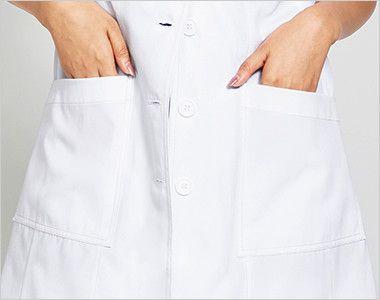CH450 FOLK(フォーク)×CHEROKEE(チェロキー) レディスシングルコート(女性用)  収納力抜群なポケット付き