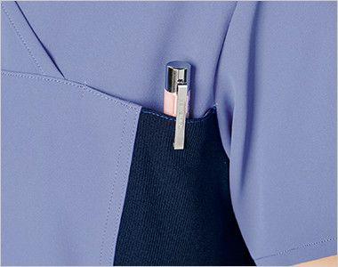 [在庫限り]CH750 FOLK(フォーク)×CHEROKEE(チェロキー) レディーススクラブ(女性用)  ポケット付き