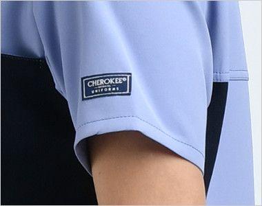 [在庫限り]CH750 FOLK(フォーク)×CHEROKEE(チェロキー) レディーススクラブ(女性用) CHEROKEEオリジナルロゴピスネーム付き