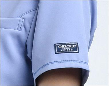 [在庫限り]CH751 FOLK(フォーク)×CHEROKEE(チェロキー) レディーススクラブ(女性用)  CHEROKEEオリジナルロゴピスネーム付き