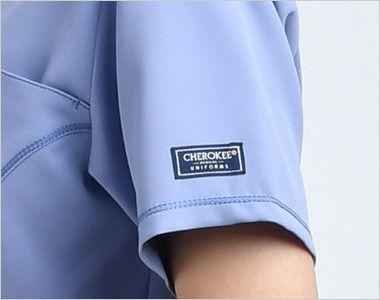 [在庫限り]CH752 FOLK(フォーク)×CHEROKEE(チェロキー) レディーススクラブ(女性用) CHEROKEEオリジナルロゴピスネーム付き