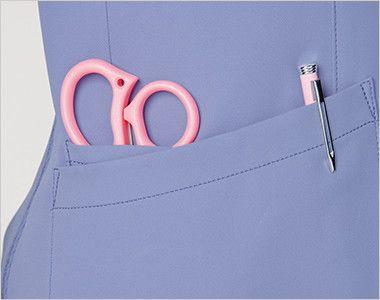 [在庫限り]CH752 FOLK(フォーク)×CHEROKEE(チェロキー) レディーススクラブ(女性用) 便利な小分けポケット