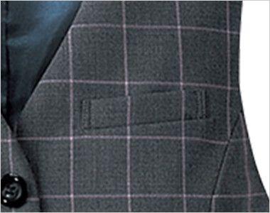 FV3046 nuovo(ヌーヴォ) ベスト ファインチェック ポケット付き