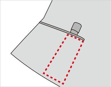 FV35900 nuovo(ヌーヴォ) [通年]ベスト チェック 印鑑やリップクリームが収まるミニポケット付き