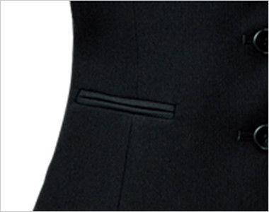 FV35950 nuovo(ヌーヴォ) [通年]ベスト 無地 ポケット付き