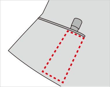 FV35992 nuovo(ヌーヴォ) [通年]ベスト プリズムドット 内側に印鑑やリップクリームが収まるミニポケット付き