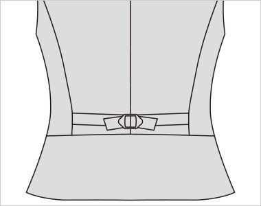 FV35992 nuovo(ヌーヴォ) [通年]ベスト プリズムドット 背中部分