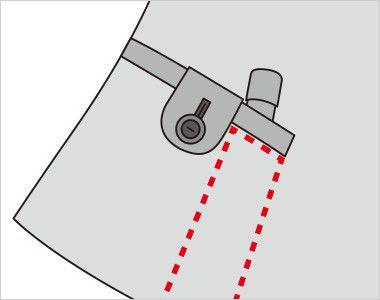 FV36084 nuovo(ヌーヴォ) [通年]ベスト レインボーウインドペングレンチェック 内側に印鑑やリップクリームが収まるミニポケット付き
