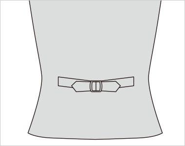 FV36094 nuovo(ヌーヴォ) [通年]ベスト シャドーダイヤチェック 背ベルト付き