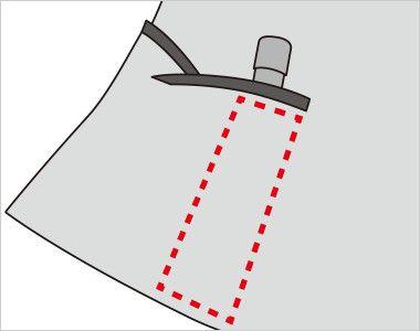 FV36104 nuovo(ヌーヴォ) [通年]ベスト フラワーギンガムチェック 内側に印鑑やリップクリームが収まるミニポケット付き
