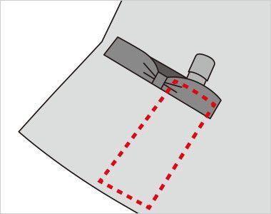 FV36125 nuovo(ヌーヴォ) [通年]ベスト ドットブロックチェック 内側に印鑑やリップクリームが収まるミニポケット付き
