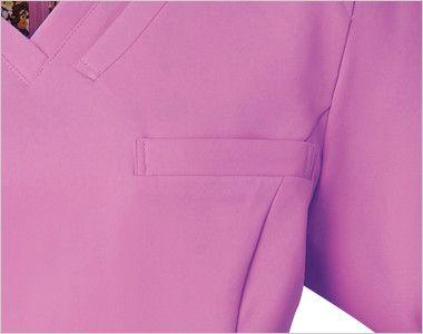 HI700 ワコール スクラブ レディース(女性用) ポケット付き