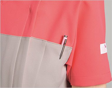 HI701 ワコール レディーススクラブ(女性用) ペン差しポケット
