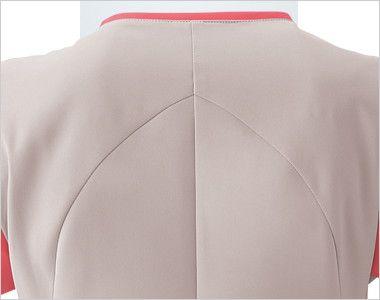 HI701 ワコール レディーススクラブ(女性用) 皮膚伸展性理論を採用した背中部分