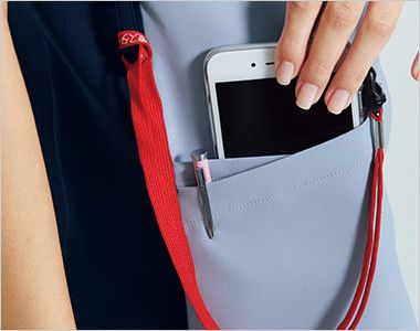 HI705 ワコール レディススクラブ(女性用) 便利なループと小分けポケット