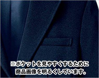 SJ1004 nuovo(ヌーヴォ) ストレッチ・ジャケット 無地 ポケット付き