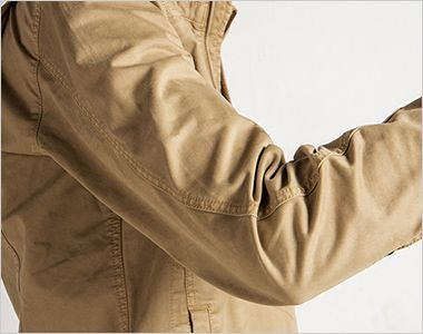 7890 アイズフロンティア 製品染めコットンストレッチワークジャケット バツグンの動きやすさを実現