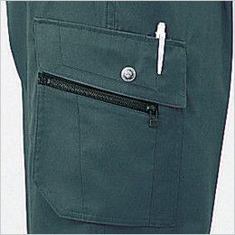 自重堂 43302 帯電防止ツータックカーゴパンツ 孫ポケット・ペン差し付きカーゴポケット
